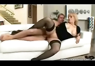 Milf takes shy boy'_s virginty