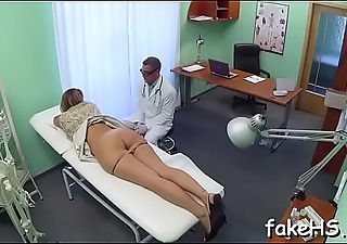At final sexy doctor reaches agonorgasmos