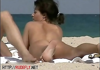 Bring about a display beach nudist blonde voyeur video