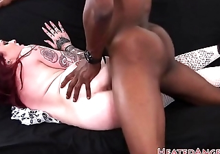 Punk schoolgirl pounded by black cock