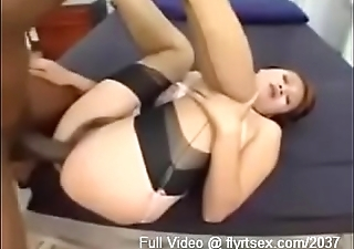 Thick Ass Asian in Stockings Orgasms on BBC - Part 3 of 7