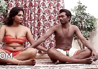Indian Couple'_s Sensual Yoga Hot Sex Video [HD] - PORNMELA.COM