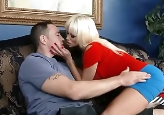 Mom needs cheering up by son - watch more on noshygirls.com