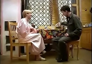 hot Russian mature and boy