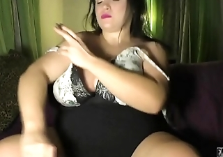 Blunt smoke &amp_ dildo suck with gorgeous BBW