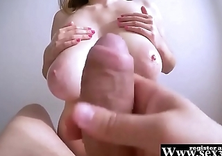 HUGE F CUP BOOBS FOR THE BEST TITTY-FUCK OF HIS LIFE