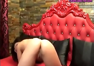 X-rated milf strips shows ass off