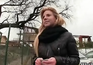 Public Pickup Girl Seduces Tourist For A Good Fuck And Dollars 07