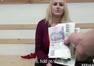 Public Pickup Girl Seduces Tourist For A Good Fuck And Dollars 04