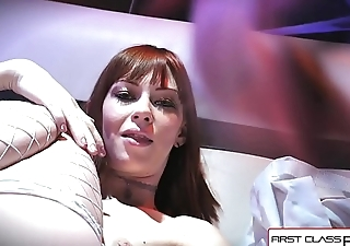 First Class POV - Watch Alexa Nova sucking a big fat dick in POV action