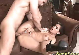 Teasing euro anally screwed apart from her lover