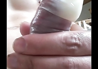 huge cum in condom