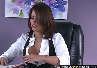 Brazzers - Big Tits at Work - ( Eva Angelina, Ramon) - Camera Cums In Handy