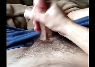 husband masturbating on the couch.MOV