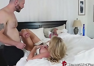 Stepson Fucks Hot Mom Rachael Cavalli Neighbouring Dozy Dad