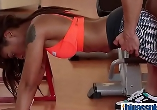 Gym cock for black bubble butt Milf(Lola Marie) 01 mov-10